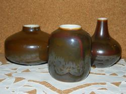 Retro Hollóházi vázák.