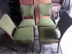 4 db kárpitozott szék eladó - árcsökkenés