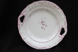 Fogófüles porcelán kínáló tál