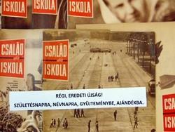 1967 április   Havilap  /  CSALÁD és ISKOLA  /  SZÜLETÉSNAPRA RÉGI EREDETI ÚJSÁG Szs.:  6356