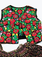 Gyönyörű hímzett népitáncos ruha szett