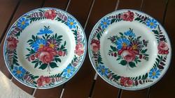 Apátfalvi tányér pár