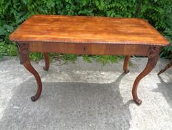 Asztal, íróasztal az 1800-as évekből