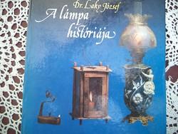 Dr Laky József A lámpa históriája