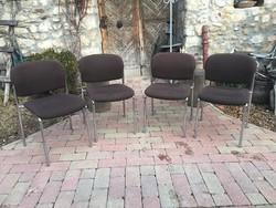 4db Rakásolható Design szék a 80-as évekből...