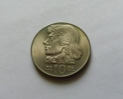 Lengyelország 10 zloty 1969.