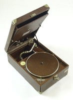 0R609 Antik His Master's Voice model 101 gramofon