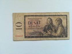 1960-as 10 Korona (Cseh)