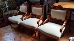 Neo-renesans ónémet szék eladó 2 db