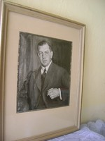 Világhírű festő és grafikus alkotása Kallay Gyula Minisztertanácsának 9.elnöke hagyatékábol 1926 tos