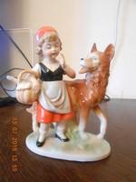 Német porcelán, Piroska és a farkas