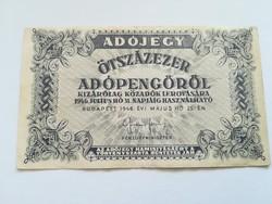 1946-os 500000 Adópengő
