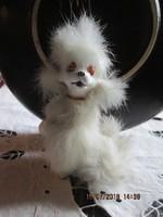 Japán porcelán uszkár kutya