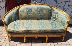 Louis XVI stílusú antik kanapé