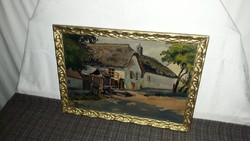 Eredeti gyönyörű Gyelmis Lukács János festmény!Eredetiségére garancia van.