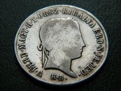 Ezüst 20 Krajczár 1848