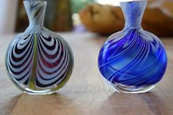 Karácsony Ajándék Muranoi parfümös üveg pár