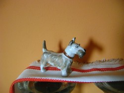 Skót terrier  porcelán kutyus..