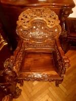 Kínai szék párban (2db) plusz hozzá tartozó kis asztal!!!!