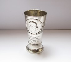 Ferenc József jubileumi ezüst kupa 1908.