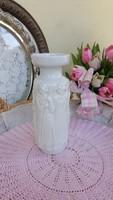 Zsolnai hófehér váza