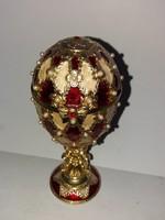 Jelzett Faberge tojás (másolat)
