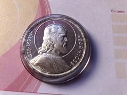 Szt István ezüst 5 pengő,gyönyörű,verdefényes,karcmentes kapszulában így R