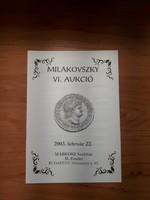 Milakovszky VI. numizmatikai aukció  2003   /911/