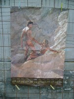 Falinaptár poszter, plakát - 1986