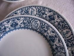 Antik Zsolnay tányérok az 1880-as évekből
