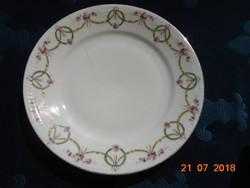 Ges.Geschützt Austria Girlandos szecessziós dombormintás tányér 23 cm