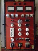 HA EGYEDIRE VÁGYIK !!Nagyméretű Vintage Loft Industrial - Ipari - Steampunk Elektromos kapcsolótábla