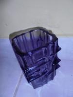 Art deco Wladislav Urban üveg váza