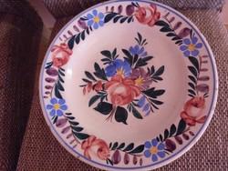 Nagy méretű jelzett Apátfalvi fali tányér
