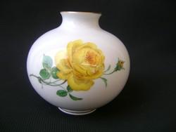 XIX.sz. Eredeti  Antik kardos Meisseni porcelán váza