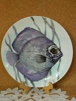 Bavaria halas fali tányér.30 cm.
