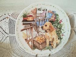 Royal Albert  (Mans best friend collection 4.) - Tányér