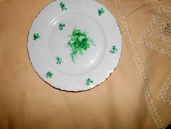Hüttl Tivadar rózsa mintával tányér 22,5 cm