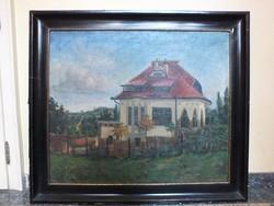 Fónyi Domanovits József festmény