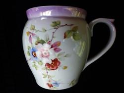 Zsolnay antik nagy hasas csésze