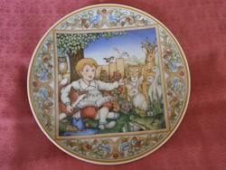 Villeroy§Boch porcelán dísztányér