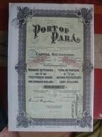 Brazilia-Port of Para 1912