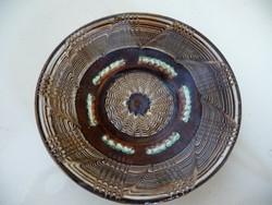 Kerámia fali tányér (d:14 cm)