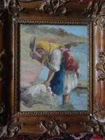Klein József eredeti festménye