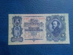 5  Pengő 1928 Minta UNC