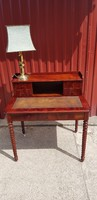 6 fiókos antik biedermaier íróasztal...restaurálva