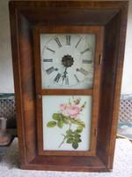 Amerikai fali óra, Waterbury, régi (7)