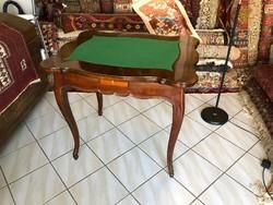 18.századi Barokk Játékasztal - Kártyaasztal