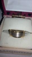 Arany gyűrű eljegyzési női gyűrű