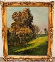 Raksányi Lajos (1895-1987 ) Tájkép c olajfestménye 95x82cm Eredeti Garanciával!!